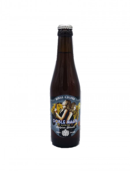 Cerveza Birra & Blues Doble Malta Sin Gluten 33 cl.