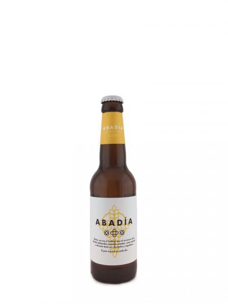 Cerveza Abadía Española Lager Ahumada