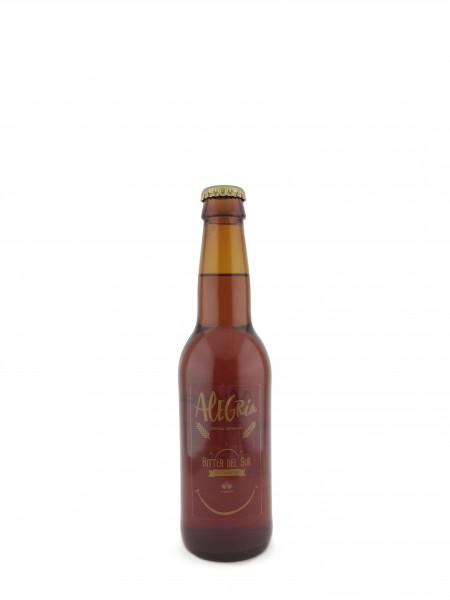 Cerveza Alegría Bitter del sur