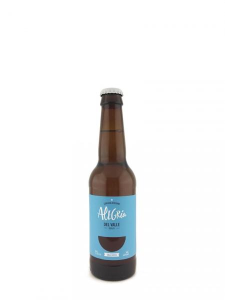 Cerveza Alegría del Valle
