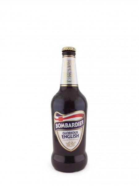 Cerveza Bombardier Glorious English