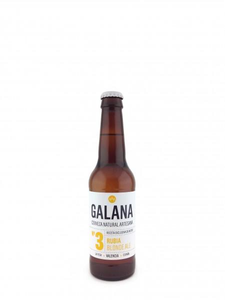 Cerveza Galana 3 Rubia