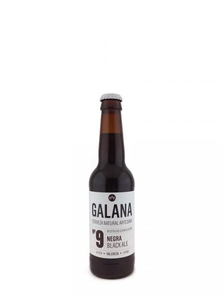 Cerveza Galana 9 Negra