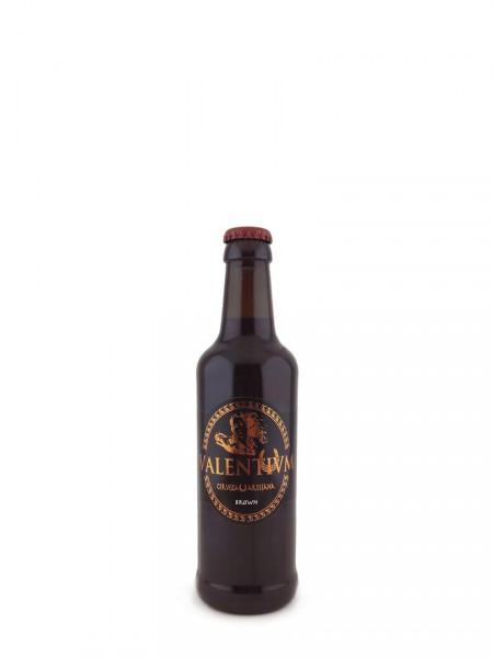 Cerveza Valentium Brown 33 cl.