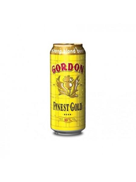 Cerveza Gordon Finest Gold lata 50 cl.