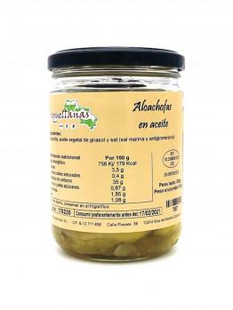 Croquellanas - Alcachofas en Aceite 330 grs.